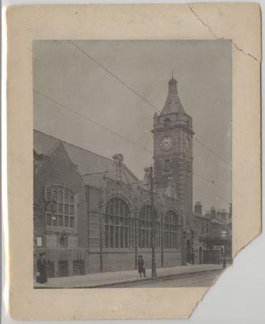 Balsall Heath Branch Library, Balsall Heath, Birmingham. 1910. [WK/B3/29]
