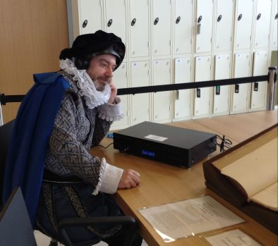 Old meets new. Listening to a radio ballad of Romeo and Juliet from the Charles Parker Archive [MS 4000]