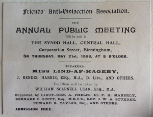 Yearly Meeting scrapbook, 1908 (ref. SF/2/1/1/16/2/1/2)