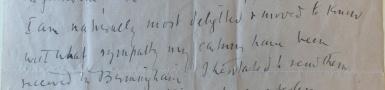 Letter to Arthur Gaskin from Augustus John, 21 December 1916 [MS 2945/1/3/6]