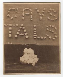 'Crystals' from James Watt's workshop [MS 3147/31/7]