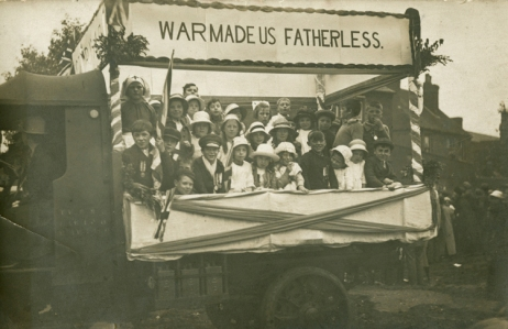 Co-Operative Society May Day Float. 1920. [MS 4614/1]