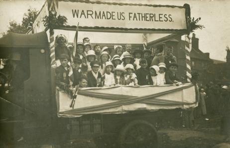 Co-Operative Society May Day Float. 1920. [MS 4614/1]