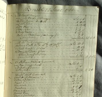 Composite Account Book [MS 3219/5/1]