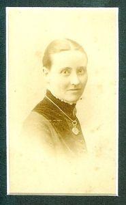 Portrait photograph of Marie Beauclerc
